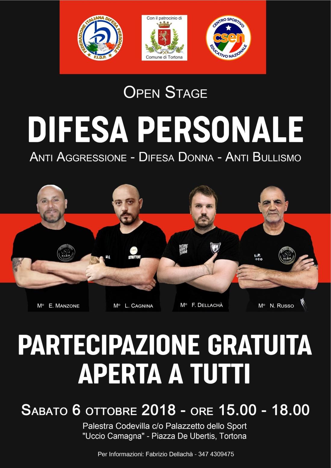 stage Difesa_Personale Locandina A3