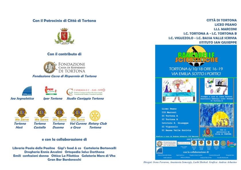 Bancarelle 014 Volantino1 Bancarelle Scientifiche 2018