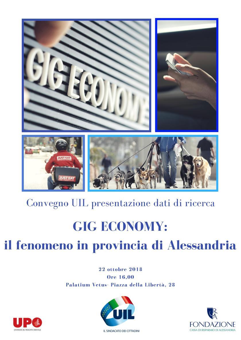 convegno UIL presentazione dati ricerca Gig Economy - 22 ottobre 2018