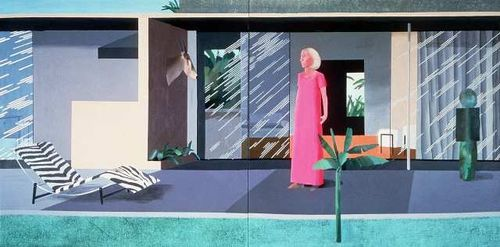 David Hockney Beverly hills housewife