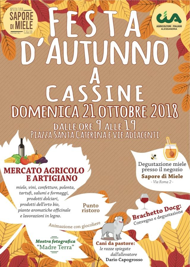 Festa d'autunno Cassine