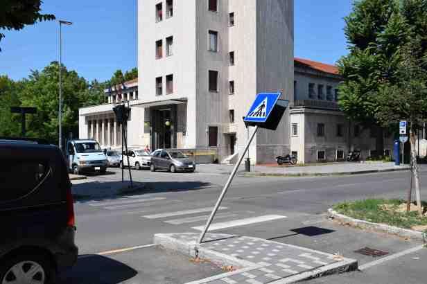 I cartelli Cartello corso Monferrato