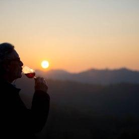 Itaca Monferrato tramonto divino