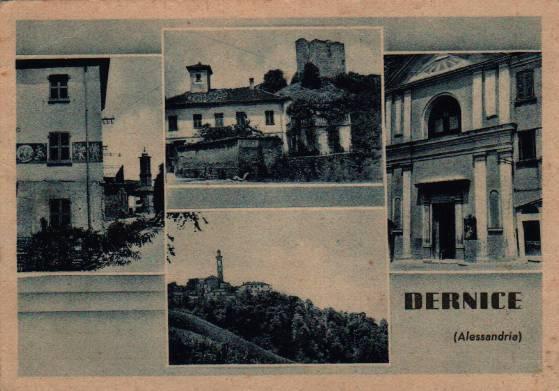 studio Cartolina storica Dernice