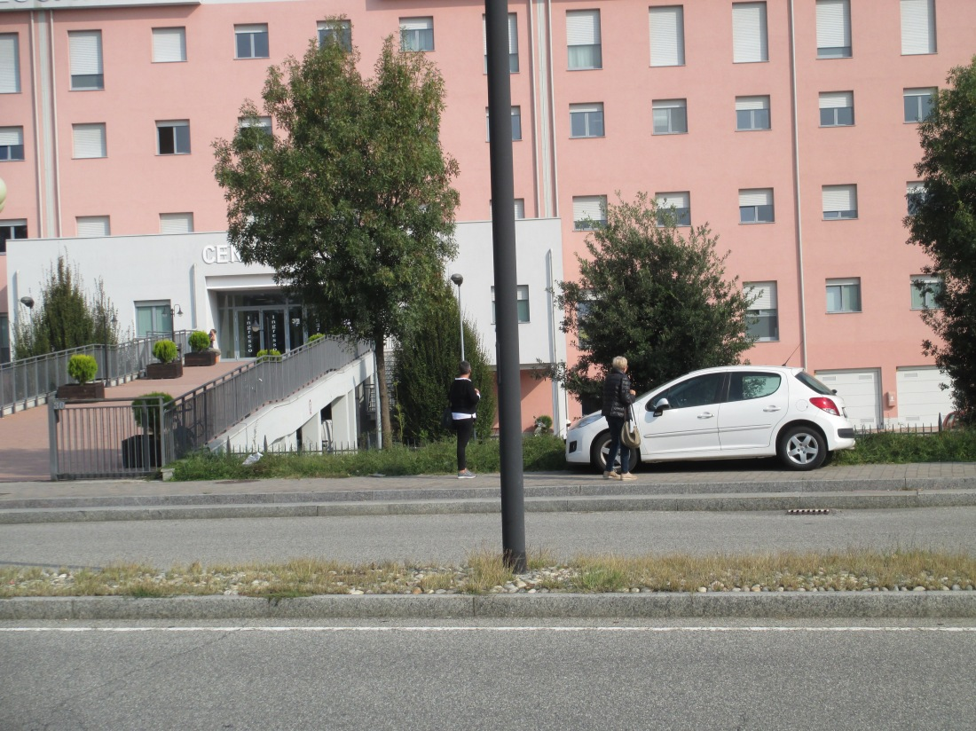 Un comodo parcheggio.JPG