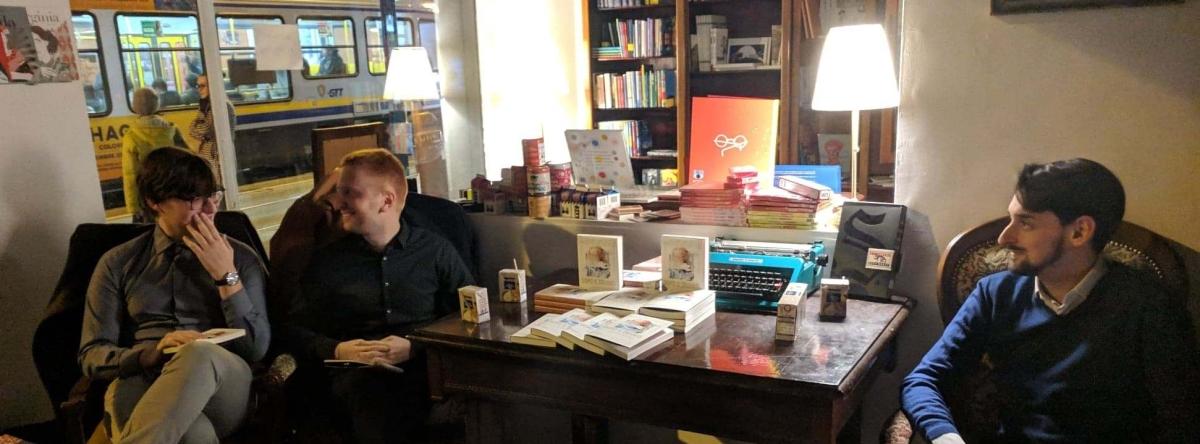 Chiacchiere con l'autore: Leonardo Malaguti e Dopo ildiluvio