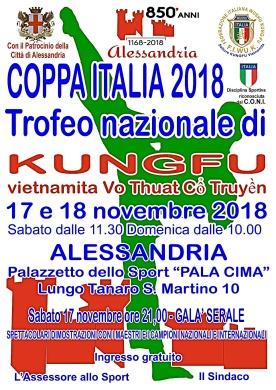 Coppa Italia KungFu 2018