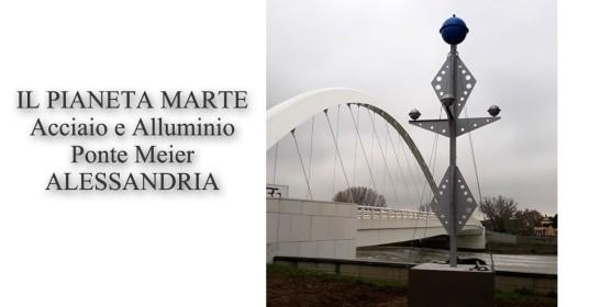 inau Ponte Meier_Alessandria_il Pianeta Marte_scultura_Antonio Saporito