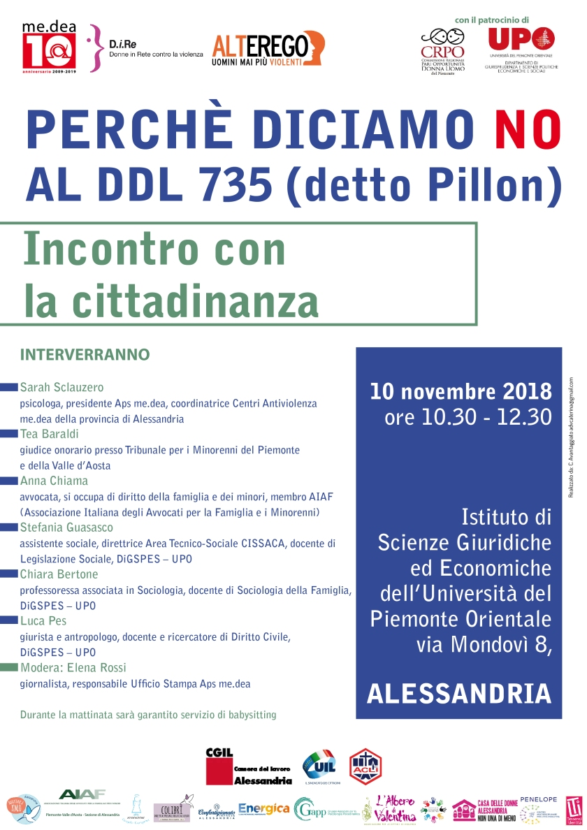 locandina DDL 735