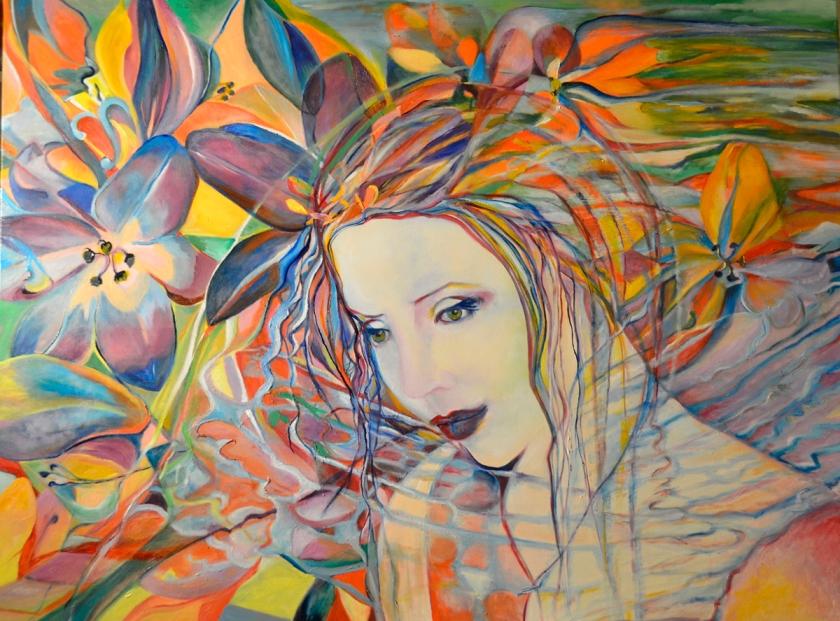 pensieri concentrici su fiori