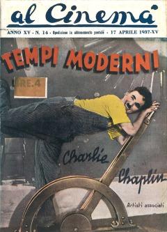pro TEMPI MODERNI poster