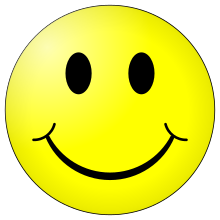 wikipedia 220px-Smiley.svg
