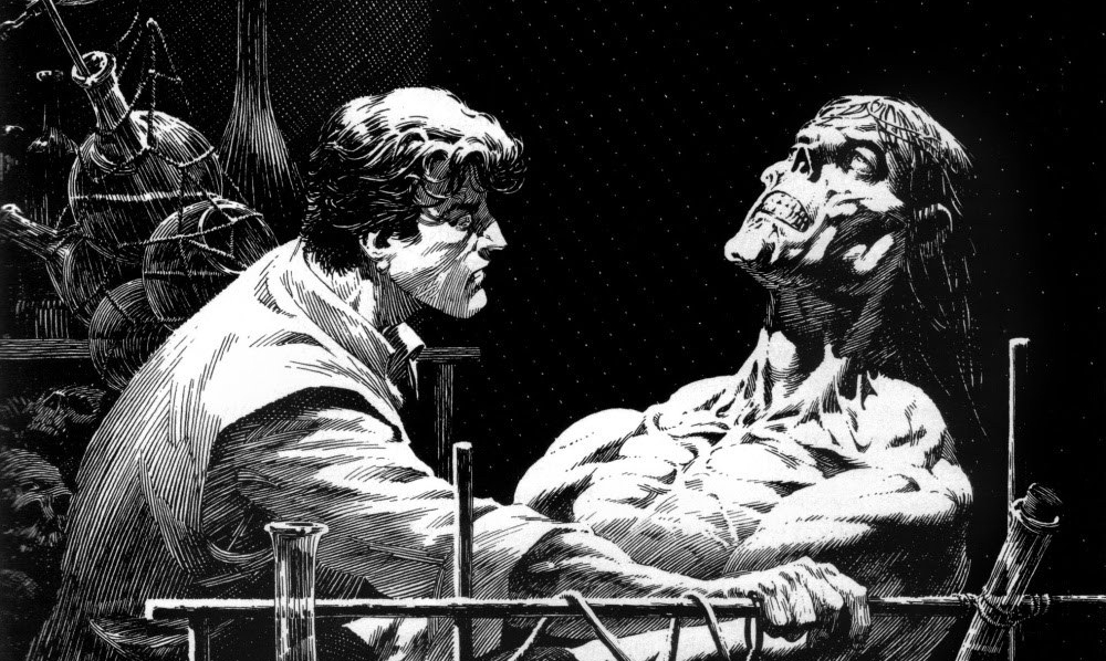 Frankenstein illustrato: quando Mary Shelley incontra l'arte di Bernie Wrightson