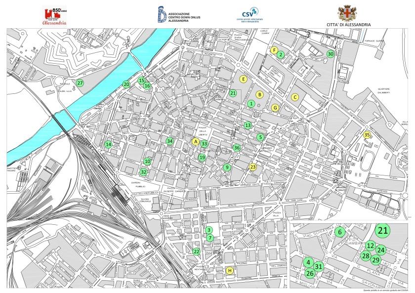 dis 1a Cartina Alessandria con Associazioni ed Enti Pubblici_Persone con Disabilità