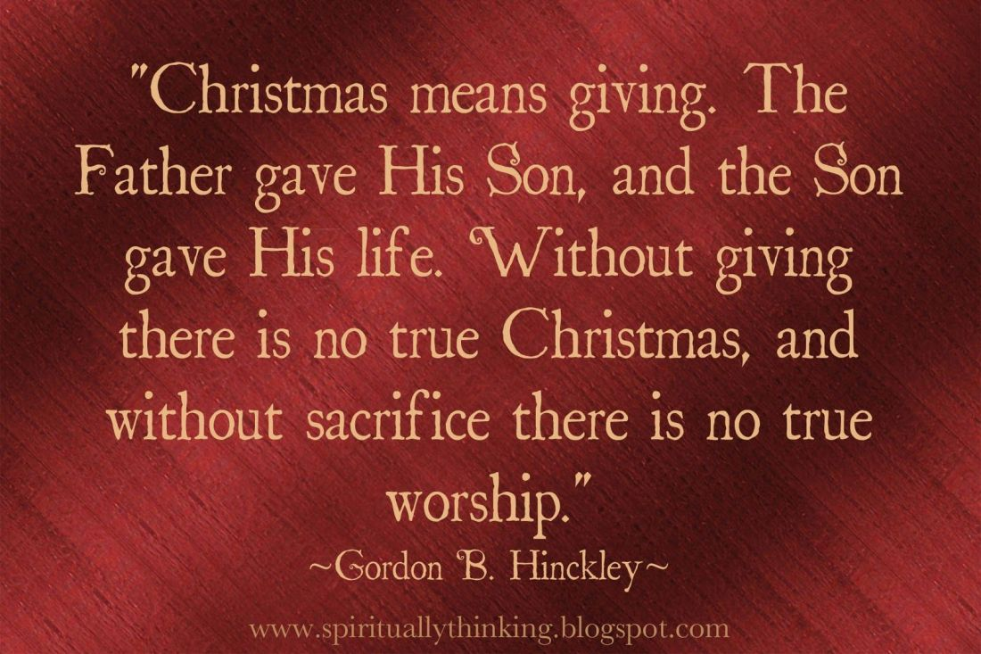 sharing during christmas quotes