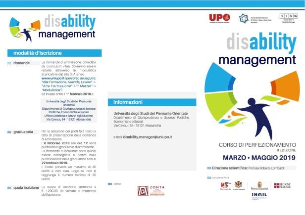1a com brochure ii ediz corso disability management_upo_alessandria