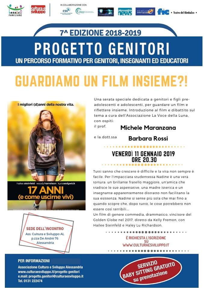 cineforum progetto genitori locandina