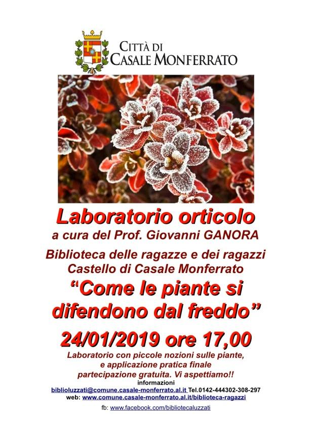 genn locandina laboratorio orticolo 24-1-2019 come le piante si