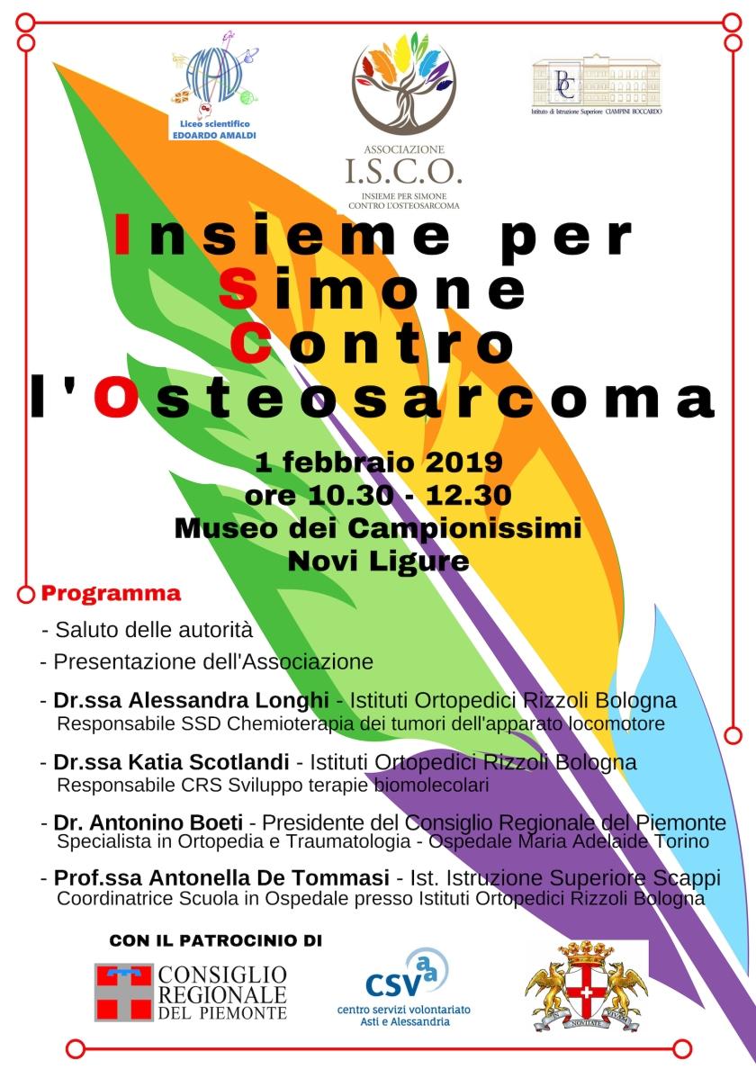 incontro insieme per simone contro l'osteosarcoma