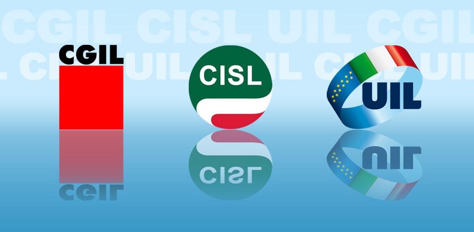 CgilCislUil-loghi