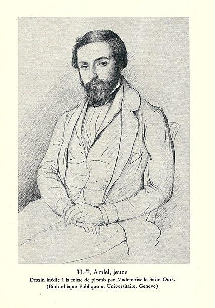 Henri-Frédéric-Amiel-Portrait-Jeune-1851