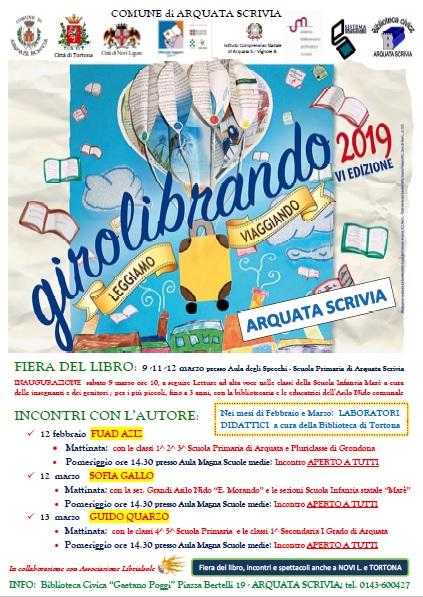 Manifesto Girolibrando 2019