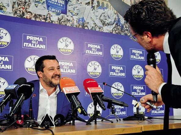 Nel futuro di Salvini non c'è il centrodestra: categoria politica morta