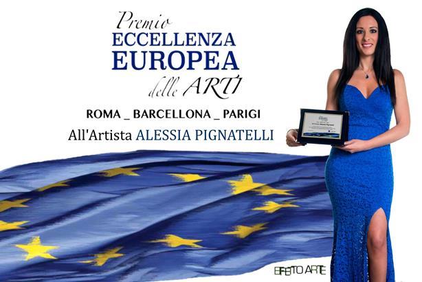 Alessia Pignatelli Premio-Eccellenza-Europea-delle-Arti-1