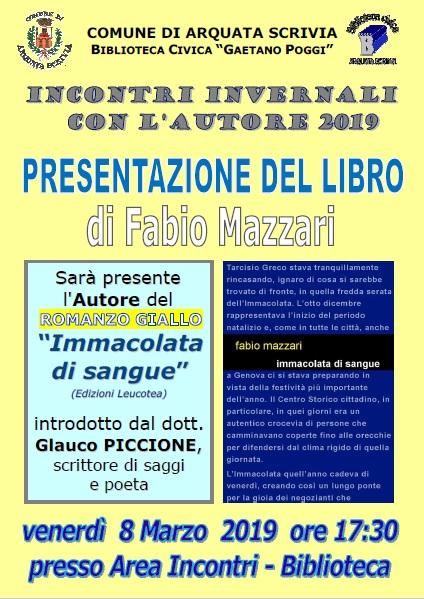 Biblioteca Presentazione libro Mazzari_8.3.2019