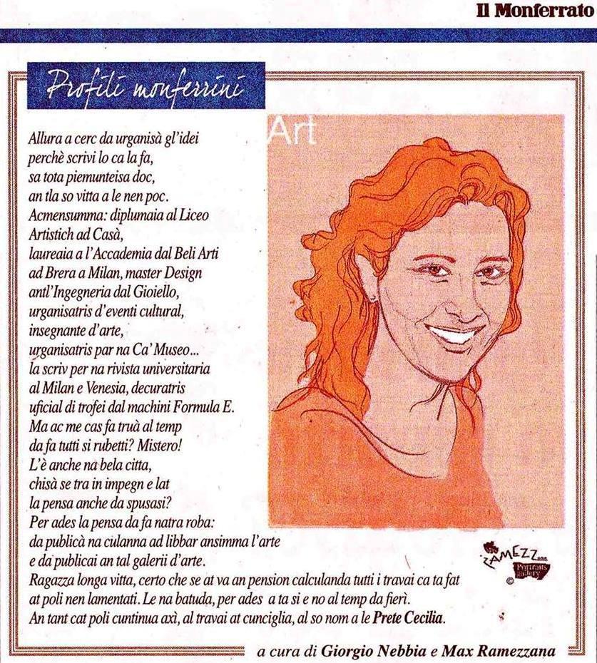Cecilia Prete - G Nebbia + M Ramezzana