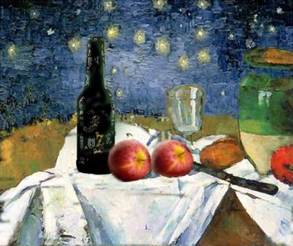 Cezanne da un suo quadro