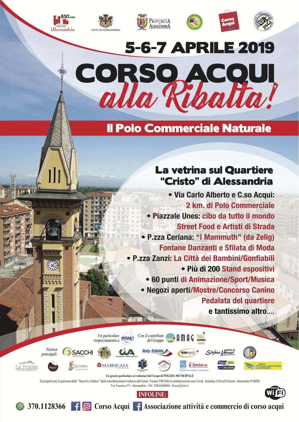 Corso Acqui alla ribalta_Alessandria_5-6-7 aprile 2019