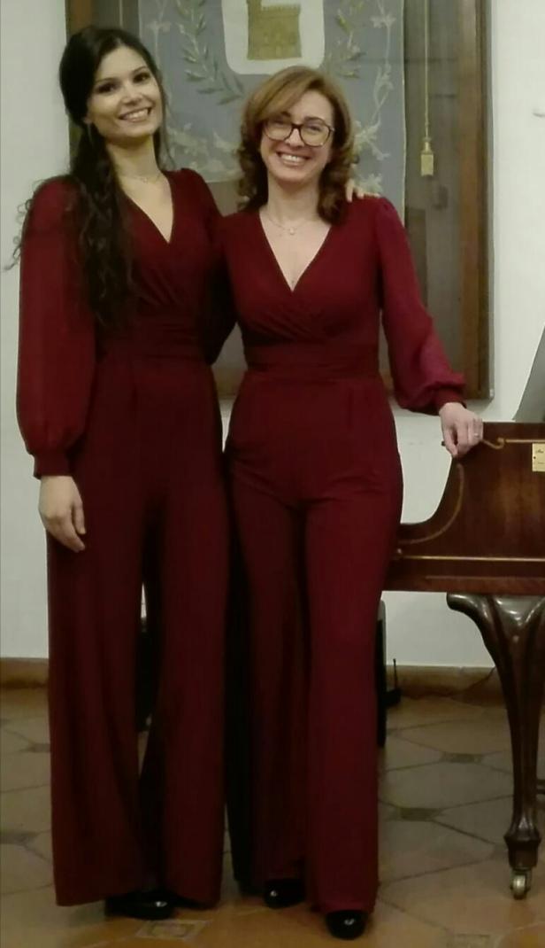 foto Virginia e Hilary