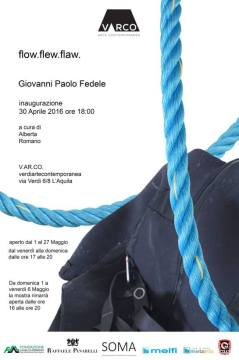Locandina - Flow. flew. flaw. di Giovanni Paolo Fedele (manifesto)