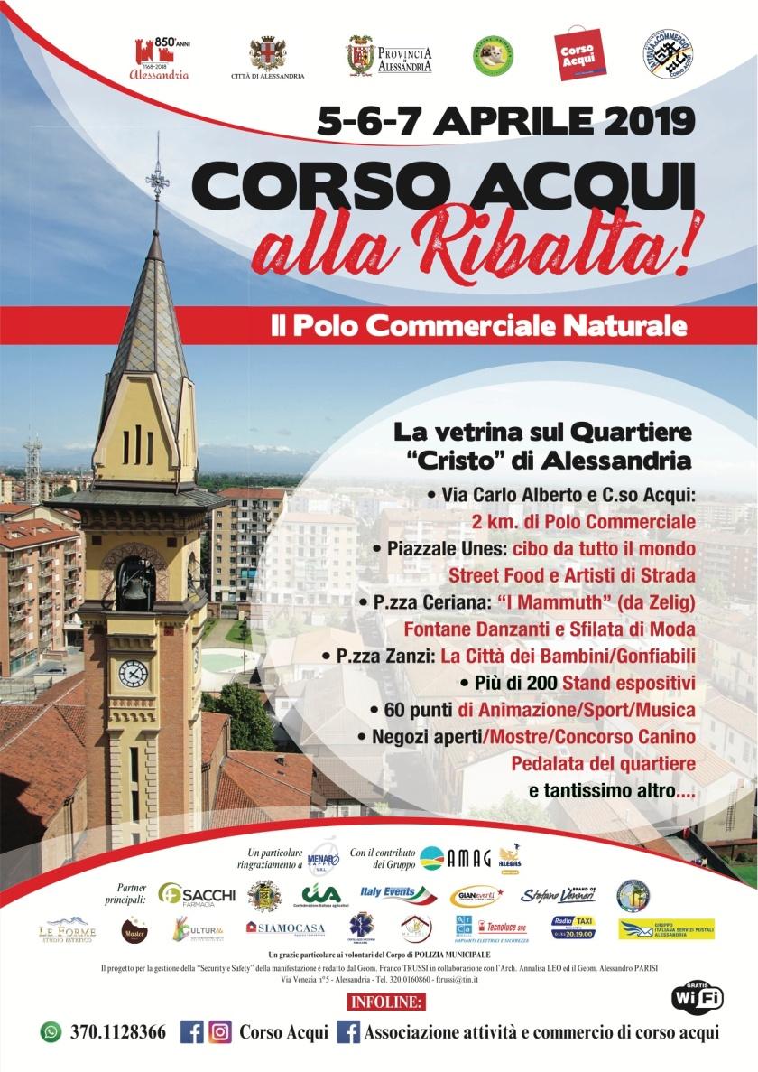 pres Locandina Corso Acqui alla ribalta_Alessandria_5-6-7 aprile 2019