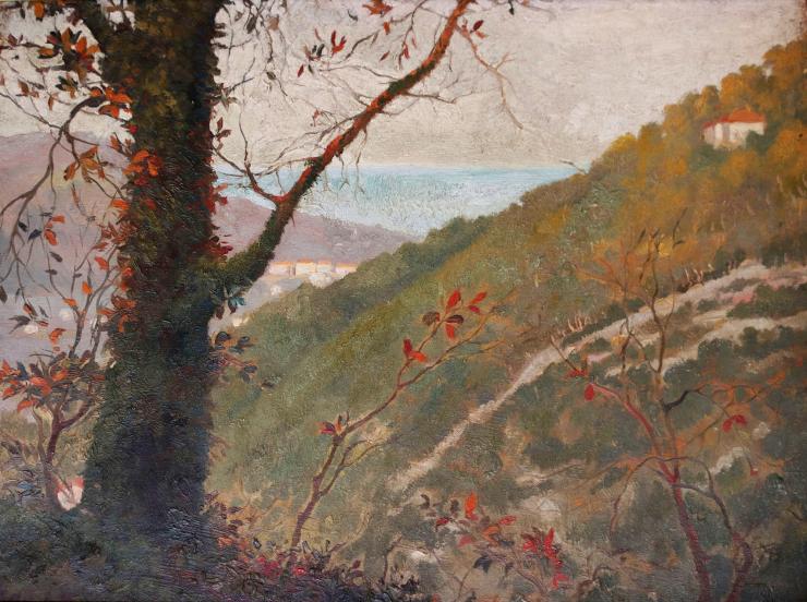 Vincent van gogh - Landscape Provenza-Alpi