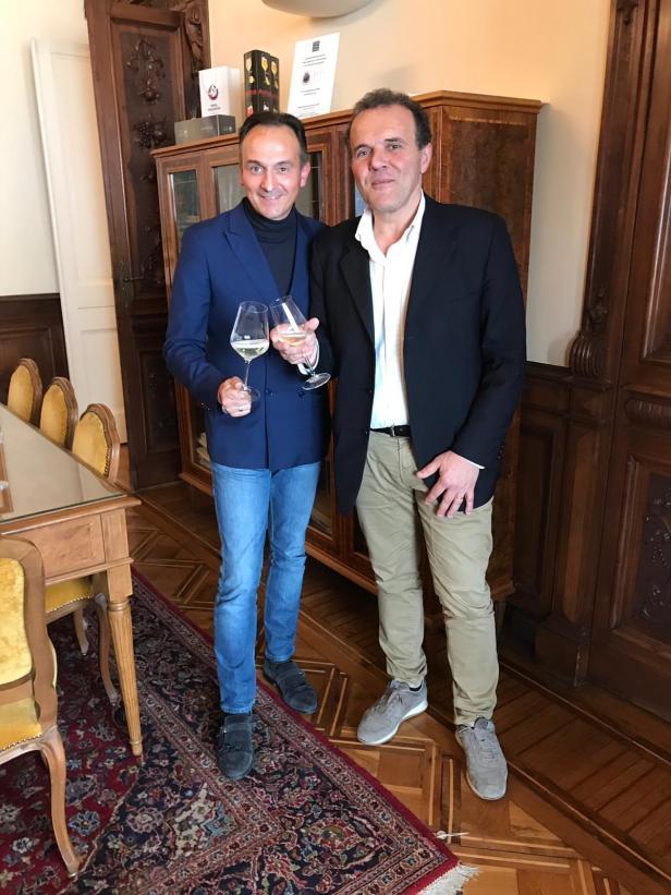 Alberto Cirio e Gianfranco Baldi