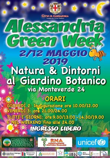 com Locandina Alessandria Green Week 2019