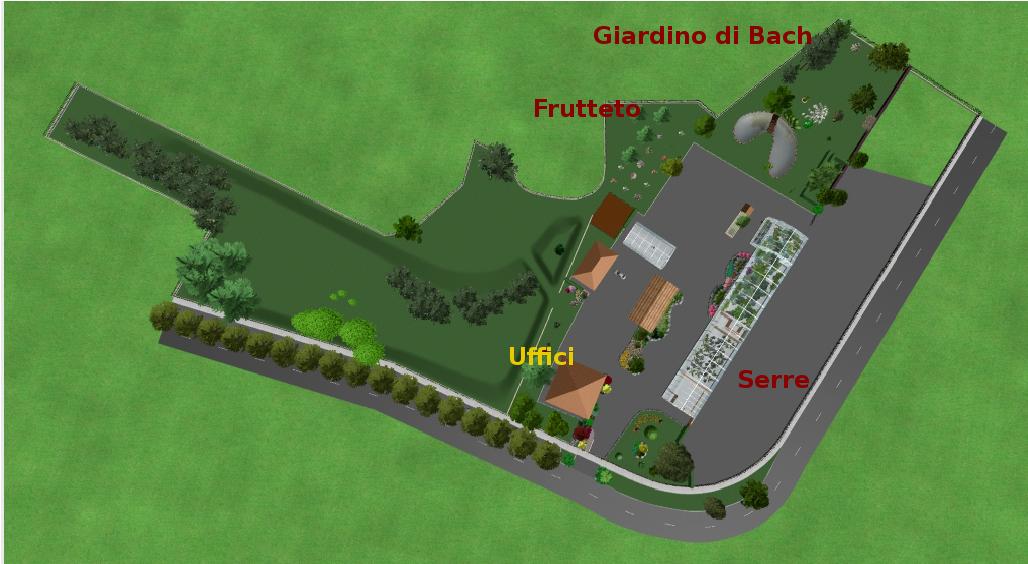 com Mappa Parco Giardino Botanico