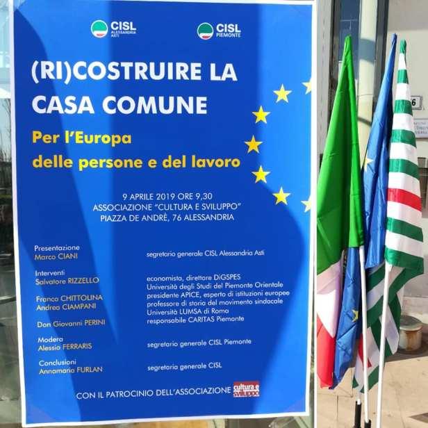 convegno europa Cisl al