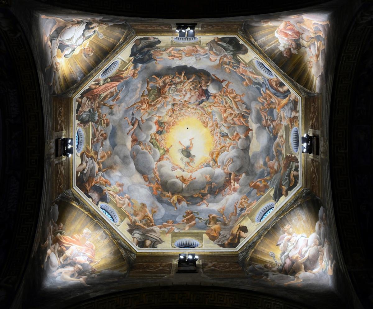 Correggio e la stupefacente Cupola della Cattedrale diParma
