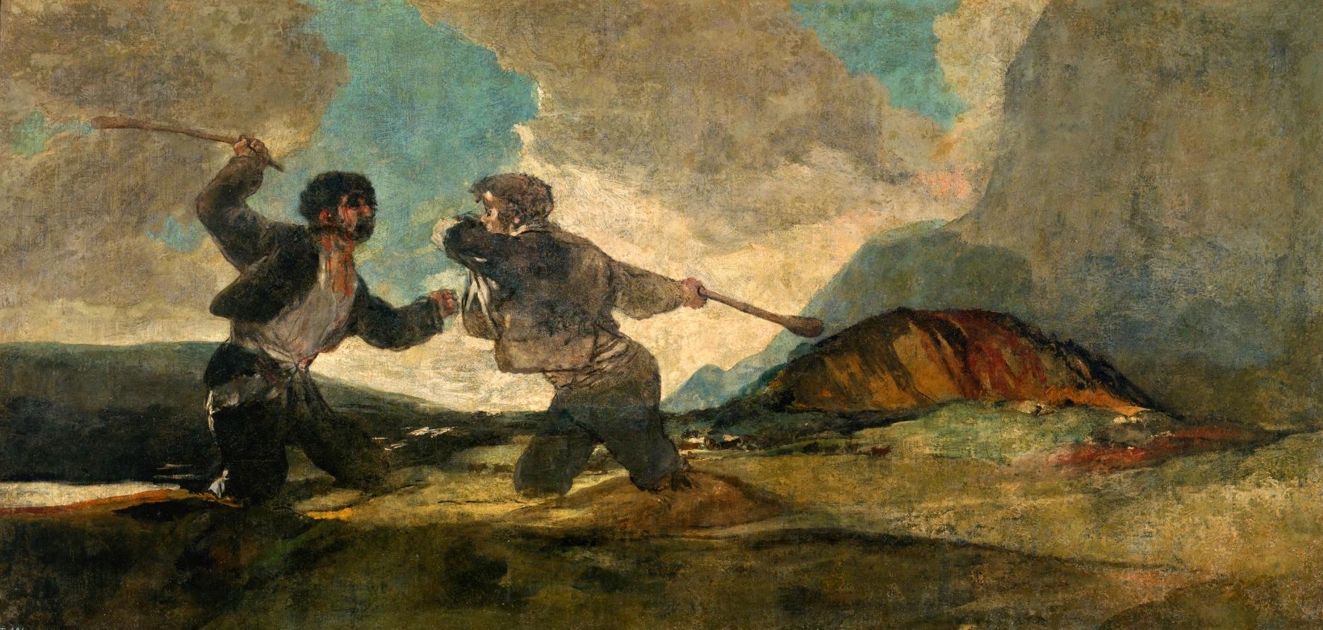 Duelo_a_garrotazos,_por_Goya