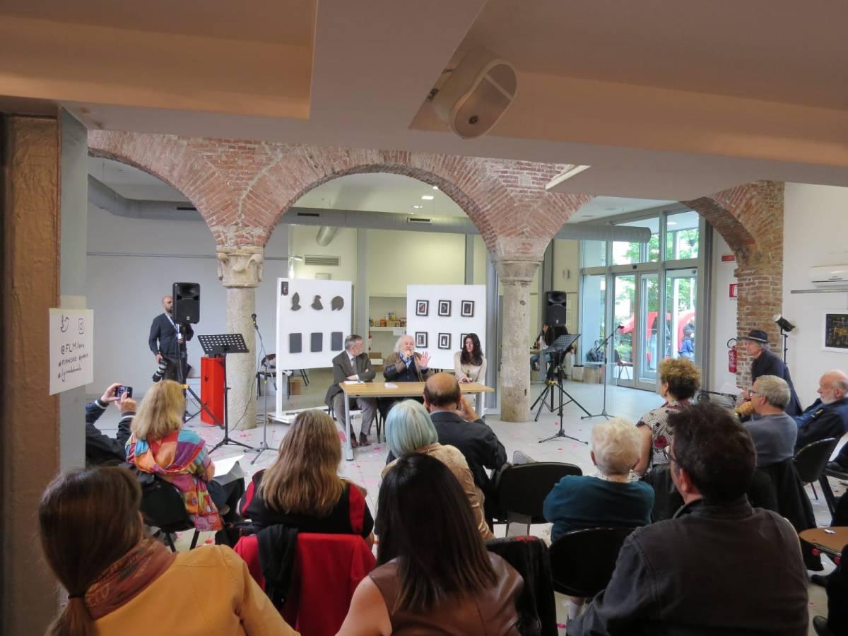 """Concluso Verseggiando al Festival Internazionale di Poesia di Milano """"L'uguaglianza delle diversità"""" con Guido Oldani e GiuseppeLangella"""