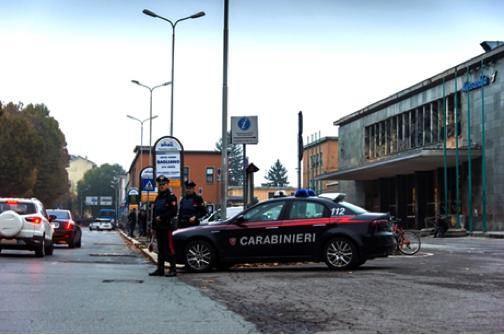 Carabinieri stazione Alessandria