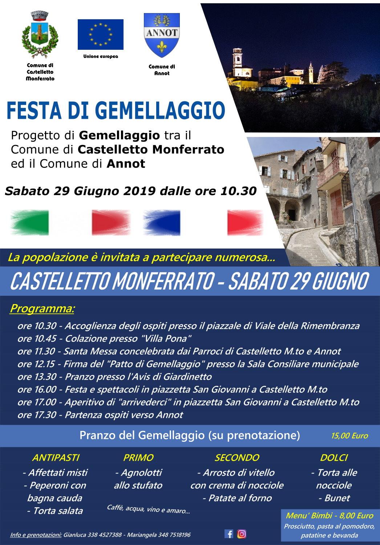 Castelletto Monferrato-Annot 29.06.19