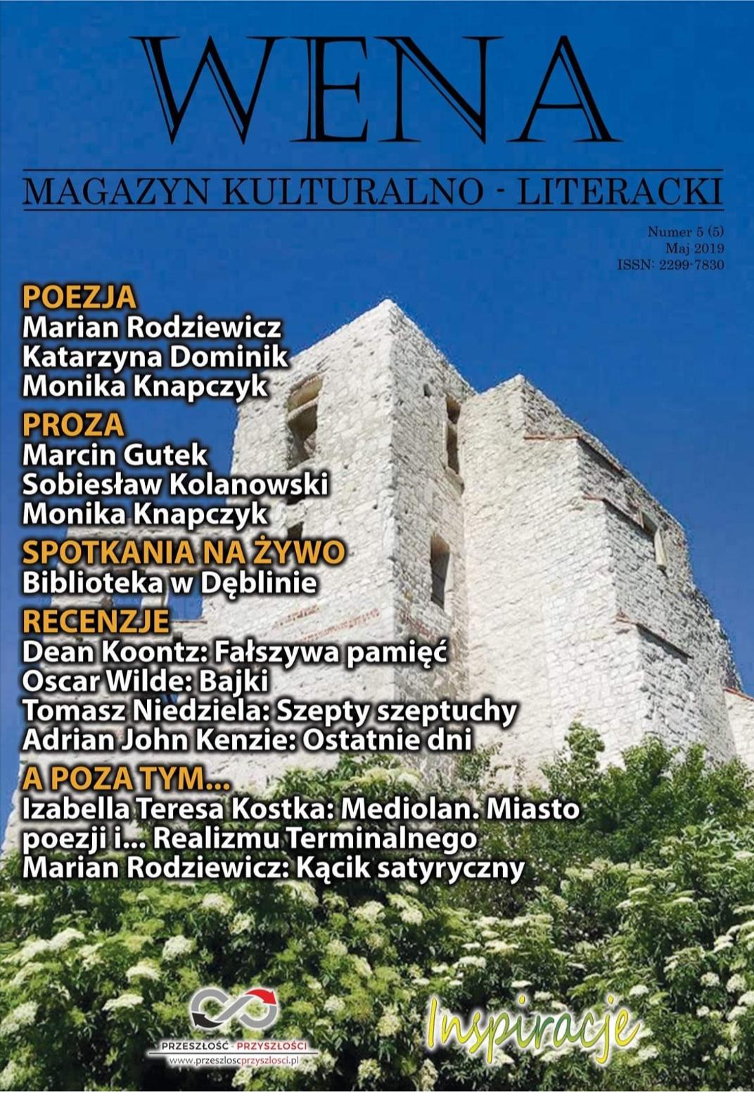 "SEZIONE BILINGUE: Rivista polacca ""Wena"" e il Realismo Terminale / Magazyn literacki ""Wena"" i RealizmTerminalny"