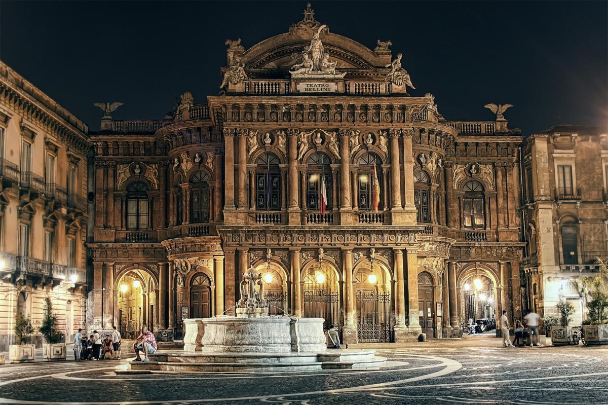 Il Teatro Massimo Bellini, spettacolo di arte e di bellezza, di DonatellaPezzino