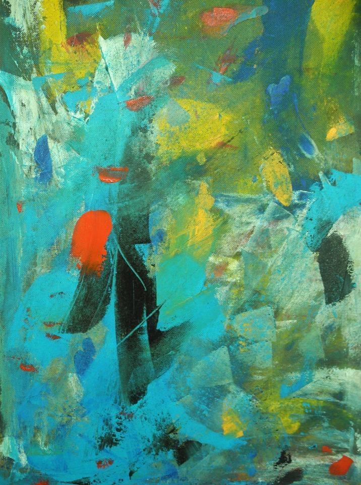 SOTTO L'ACQUA acrilico di Niki Taverna.jpg