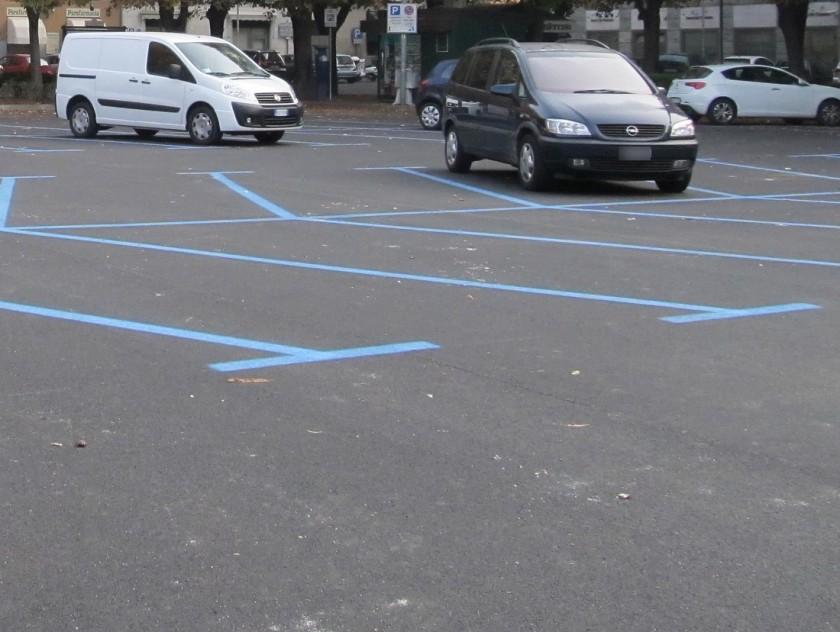 parcheggi blu