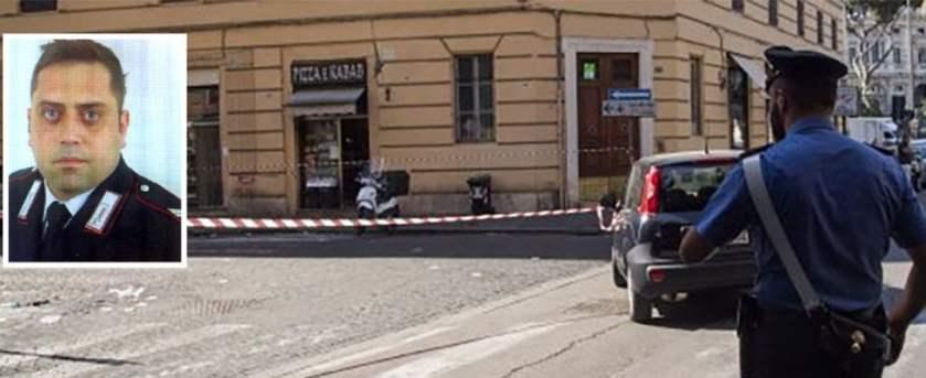 Roma Carabiniere ucciso